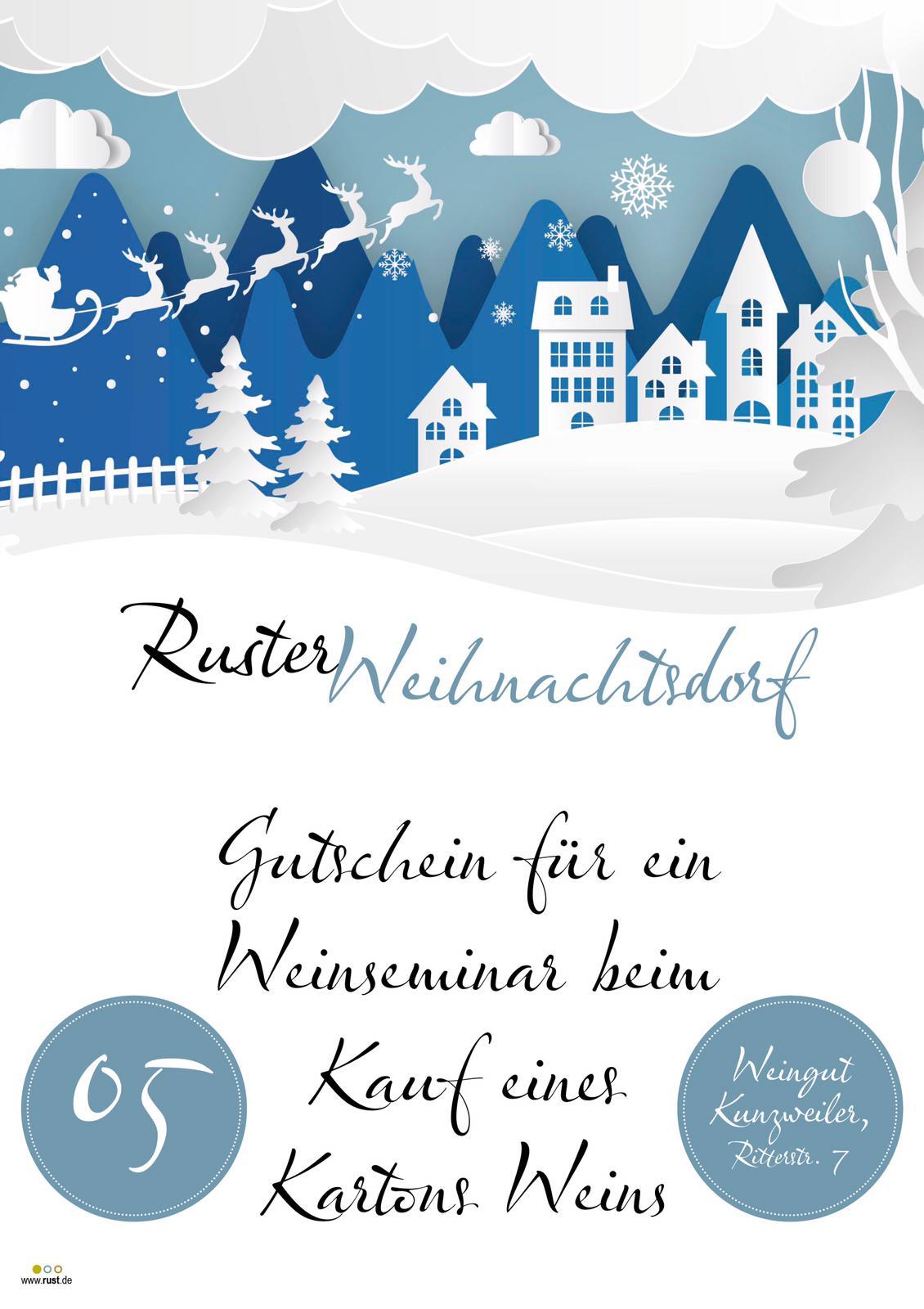Ruster Adventskalender Türchen 5
