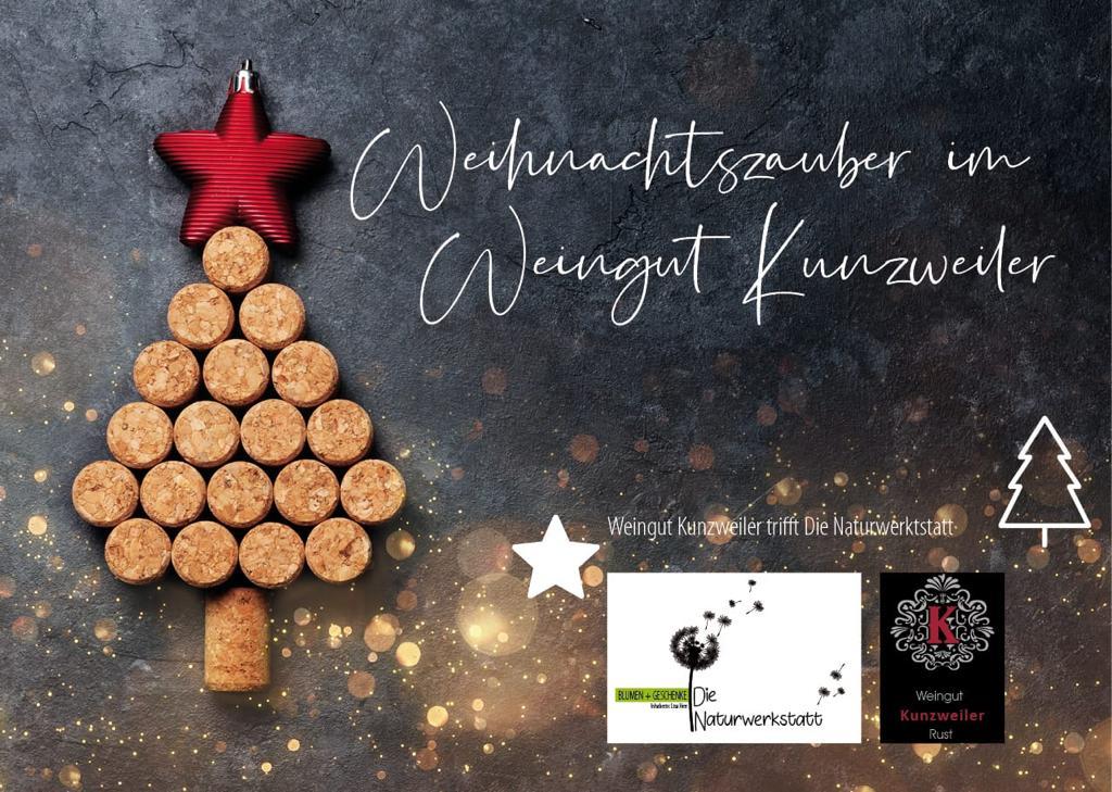 Weihnachtszauber im Weingut Kunzweiler - Sonntag 1. Dezember 2019